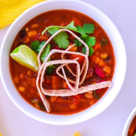 מרק שעועית מקסיקני