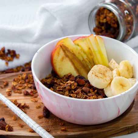 גרנולה אגוזים ופירות יבשים - מתכון משודרג