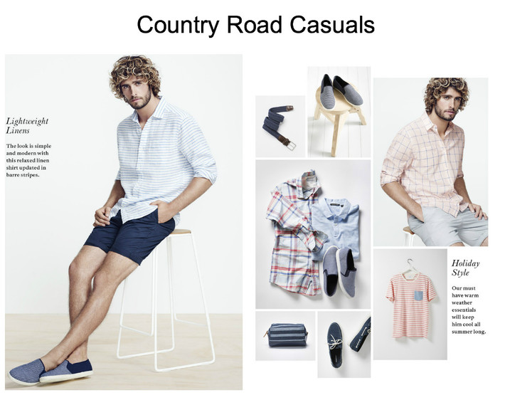 Summer Clothes for Him