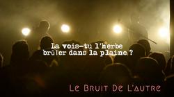 LE BRUIT DE L'AUTRE / ZINOR