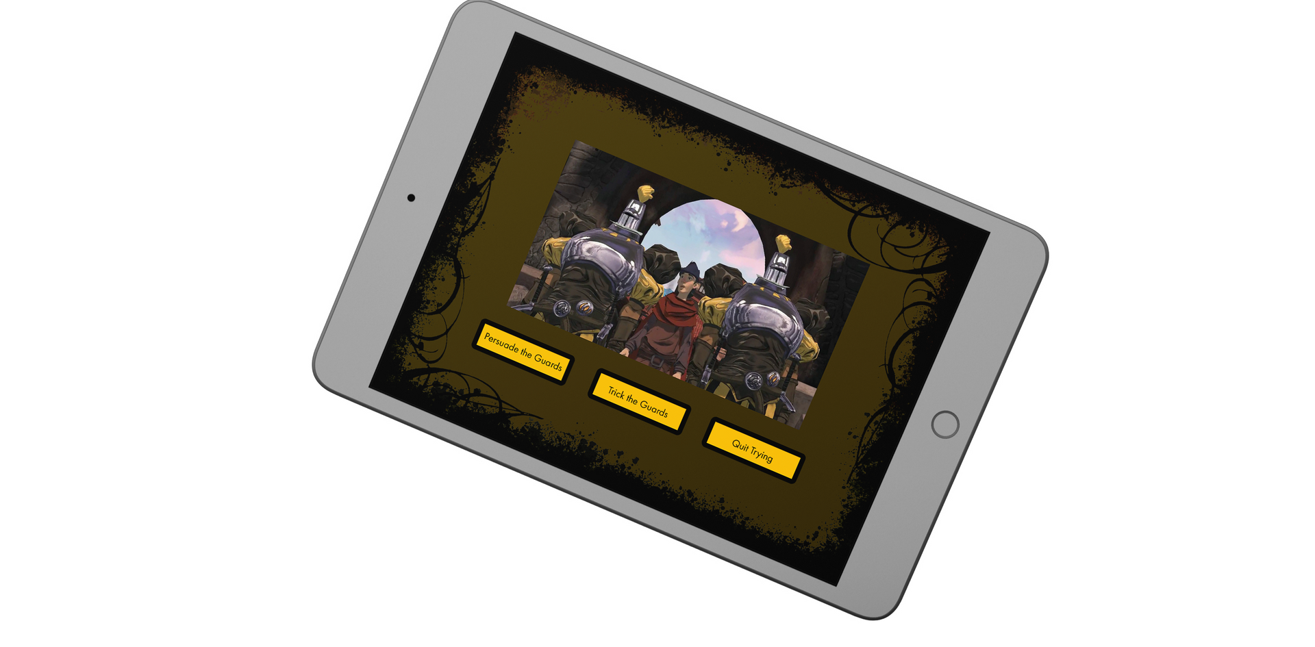 King's Quest Tablet Dialoge Choices