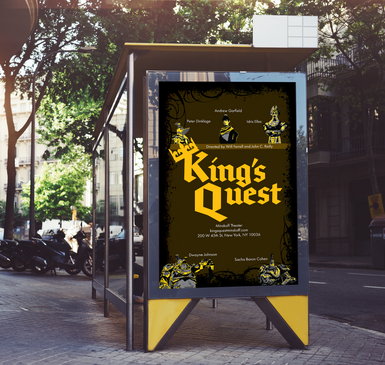 King's Quest Bus Ad