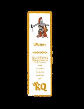 King's Quest Whisper