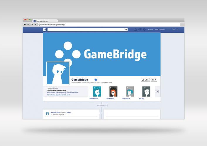 GameBridge Facebook Page