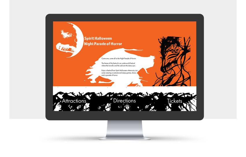 Spirit Halloween Website
