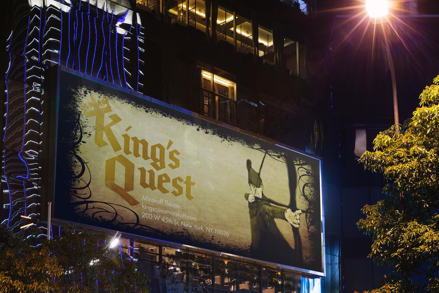 King's Quest Billboard
