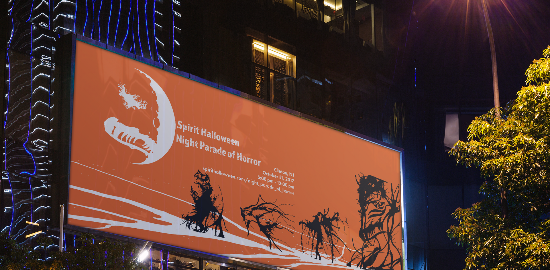 Night Parade Billboard