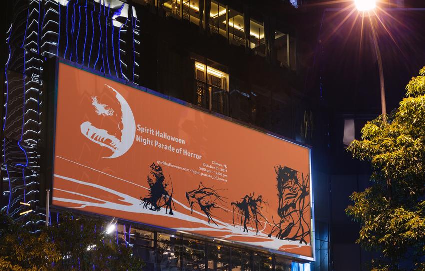 Night Parade Billboard