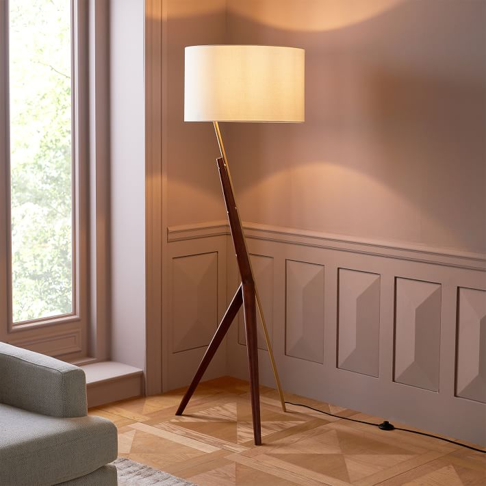 Caldas Floor Lamp-West