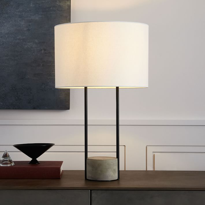 Industrial Outline Table Lamp-West