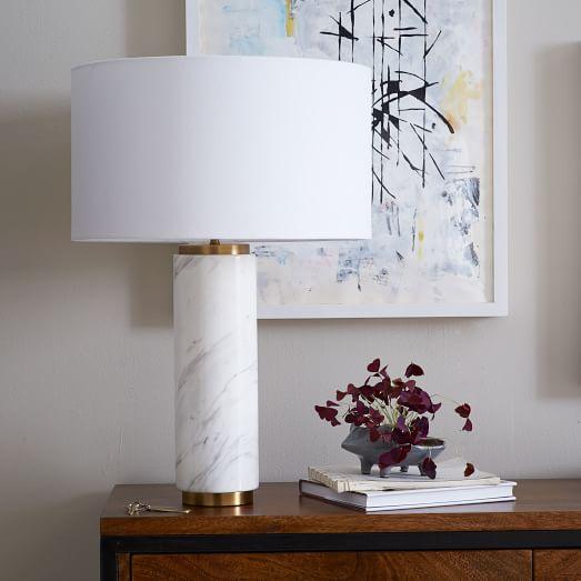 Pillar Table Lamp-West