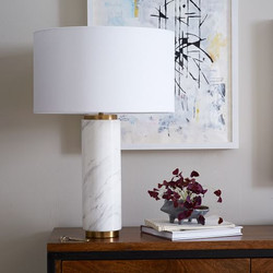 Pillar Table Lamp-West
