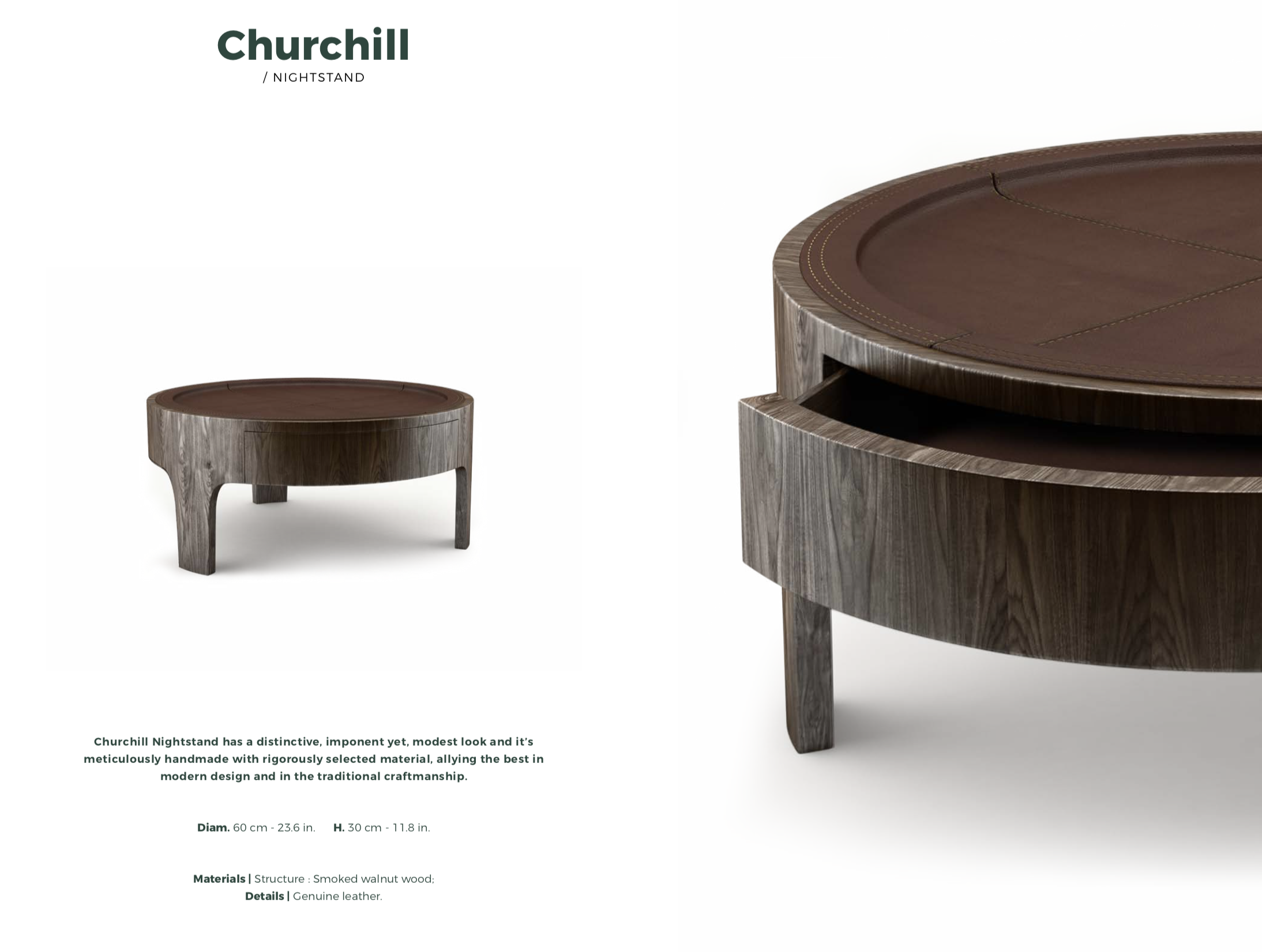 Churchill Low Table-Wood