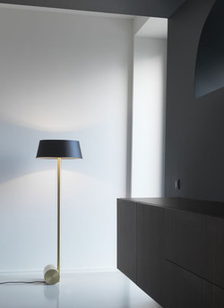 Calee Floor Lamp-Cvl