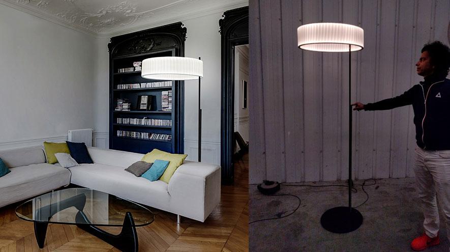 Ronde Floor Lamp-Dix