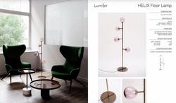 Helix Floor Lamp-Lumi