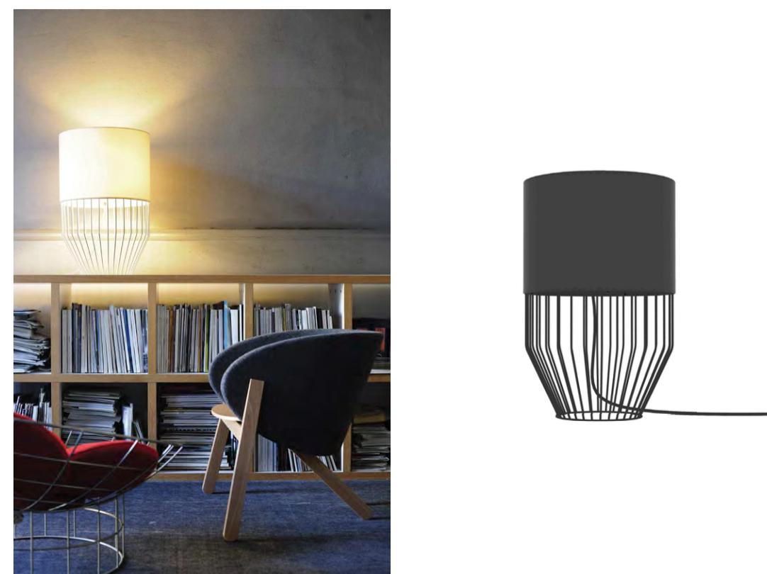 Raio Table Lamp-Branc