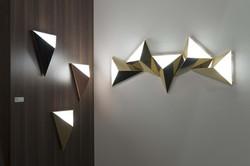 Tetra Wall Lamp-Cvl