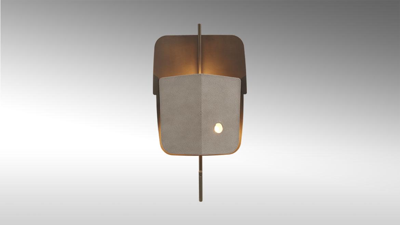 Velum Wall Lamp-Fen