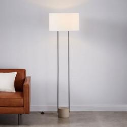 Industrial Outline Floor Lamp-West