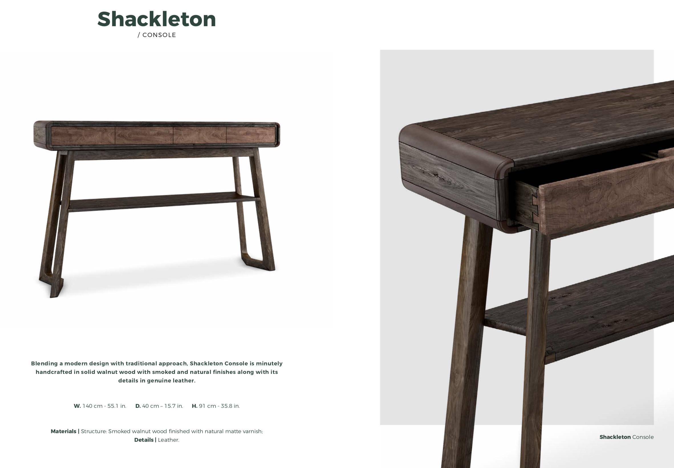 Shackleton Desk-Wood
