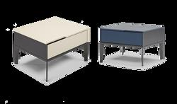 Mondran Bedside Table-Nat