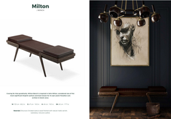 Milton Bench-Wood