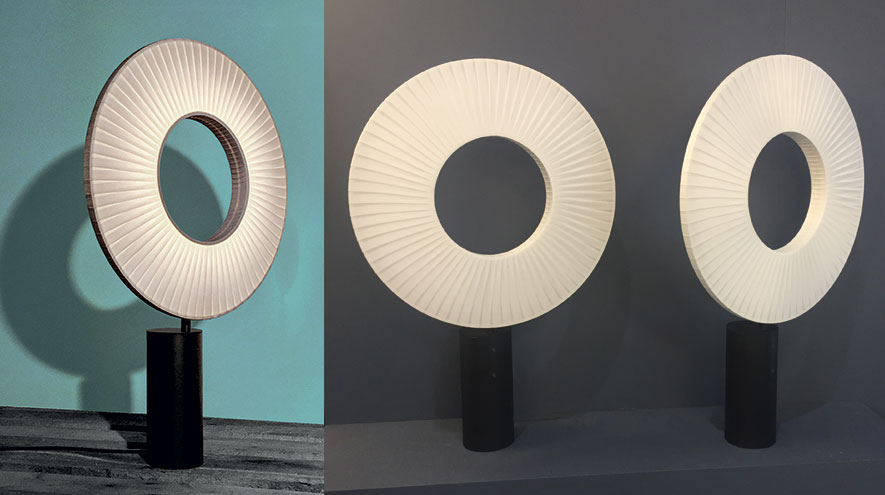 Iris Table Lamp-Dix