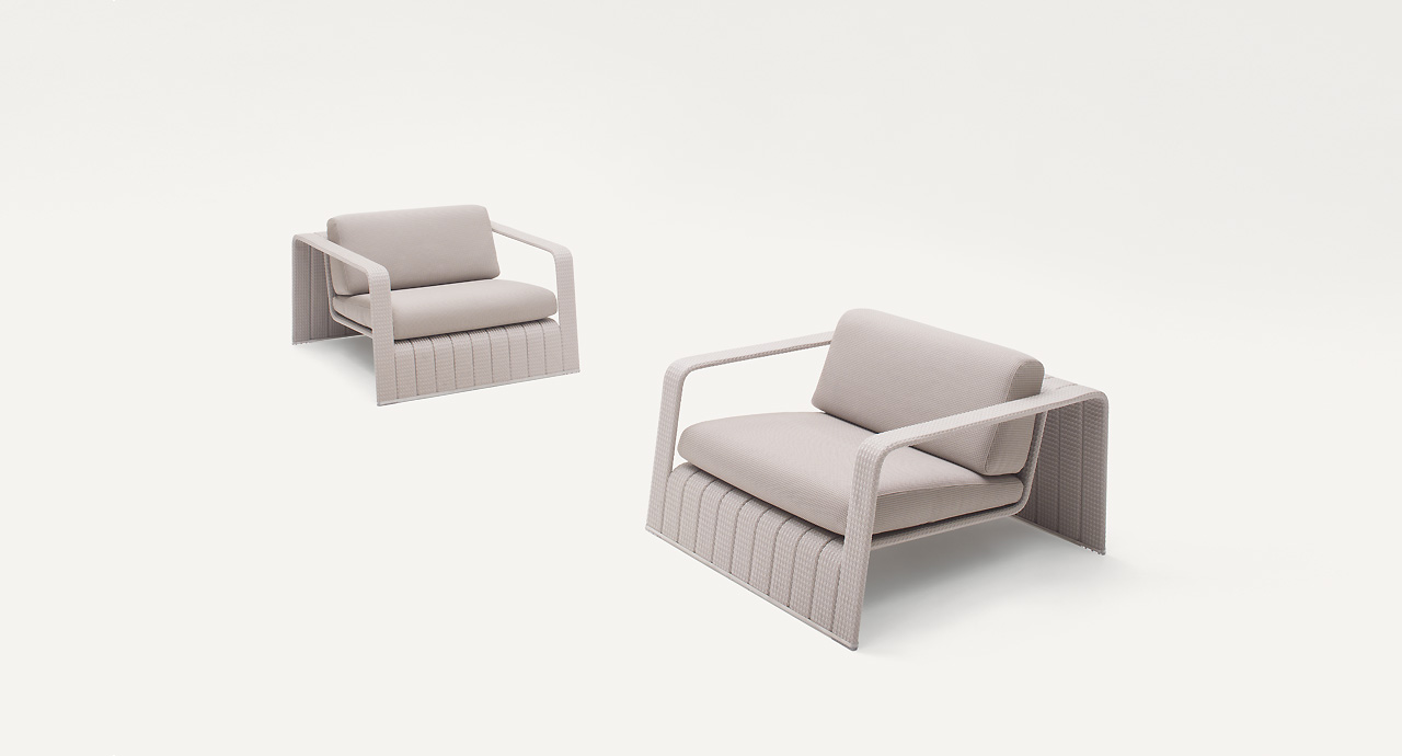 Frame Armchair outdoor-PL