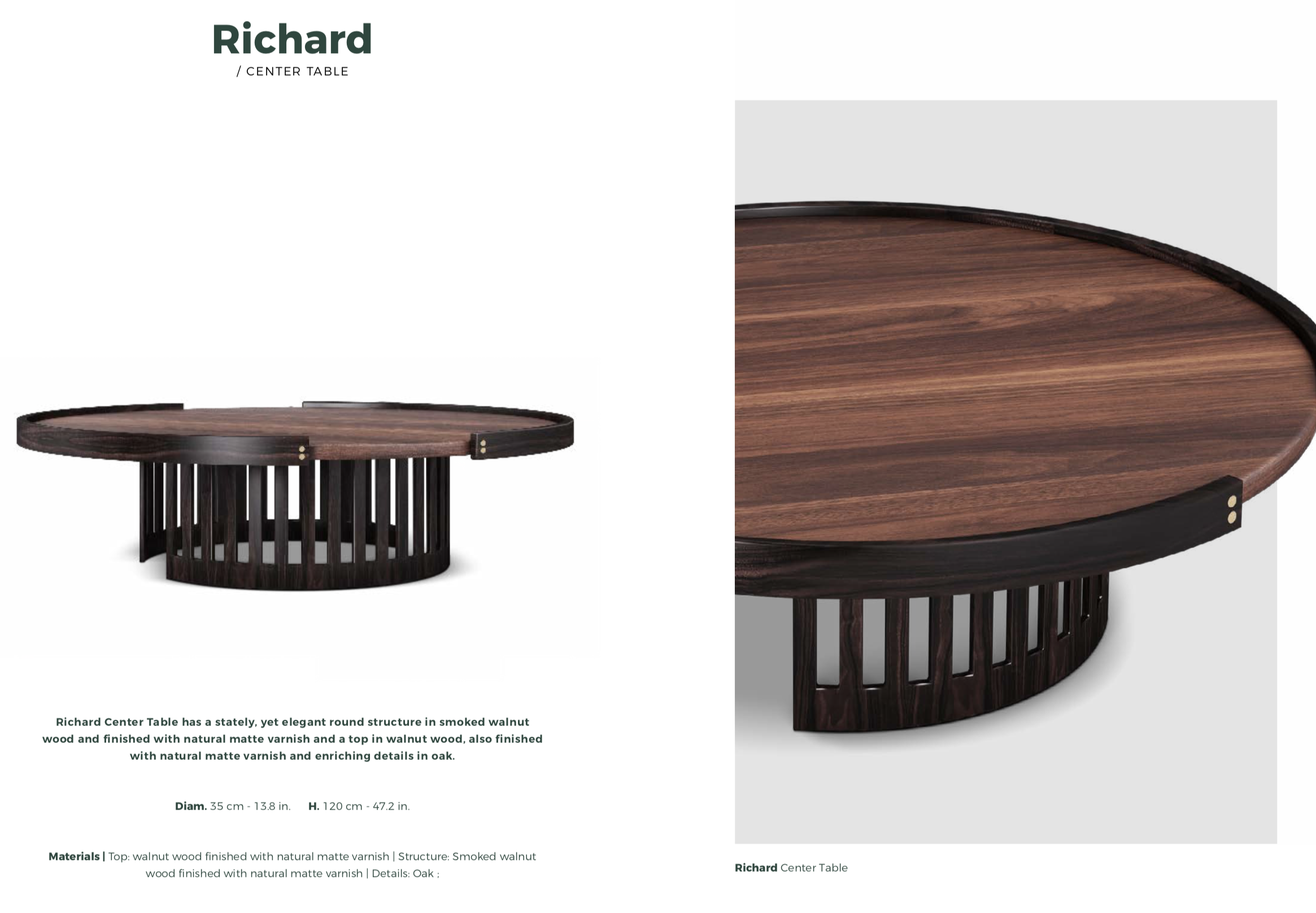 Richard Low Table-Wood