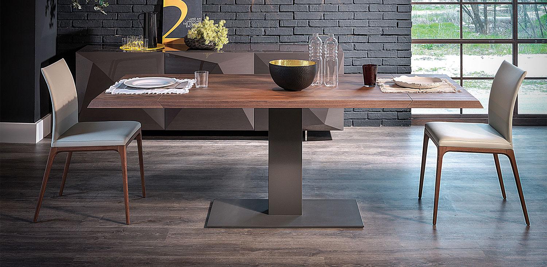 Elvis Wood Exten Table-Catt