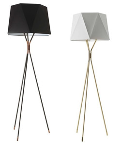 SOLITAIRE Floor Lamp-Cvl