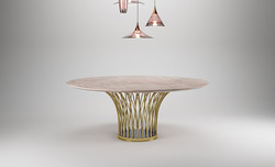 Flora Round Table-PC