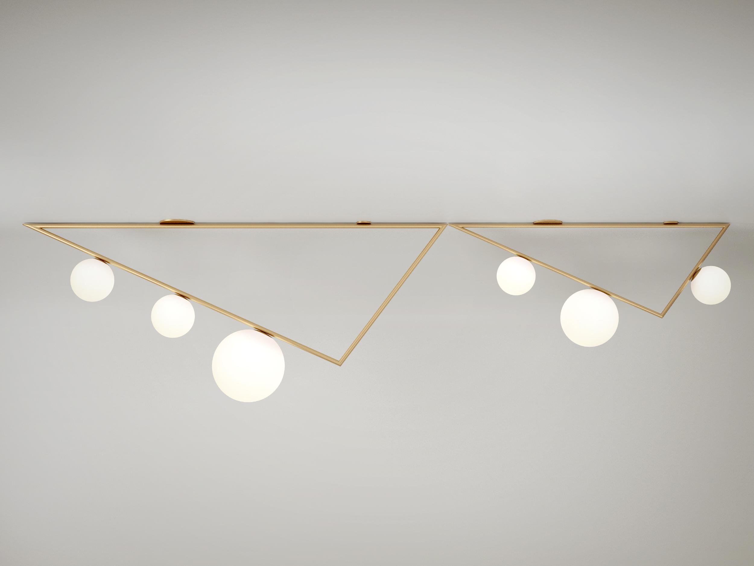 Triangles Ceiling Lamp-Areti