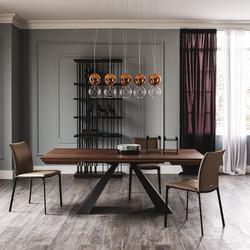 Eliot Wood Exten Table-Catt