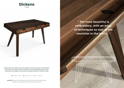 Disckens Desk-Wood