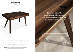 Disckens Desk-Wood