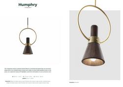 Humphry Pendant-Wood