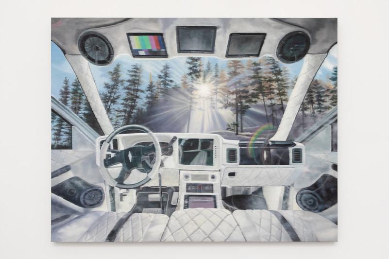 The Navigator  127 x 162.6 cm  Oil on linen