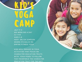 Kid's Yoga Camp