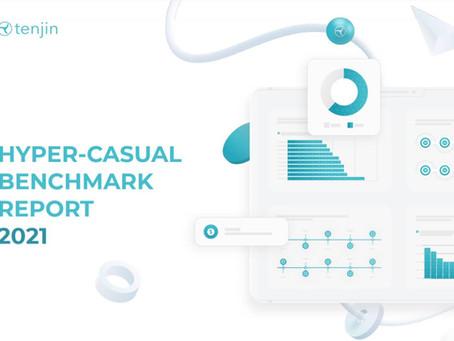 Tenjin, Hypercasual 2021 Benchmark Raporunu Yayınladı