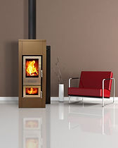Walltherm Zebru Insulated Steel Wood Stove