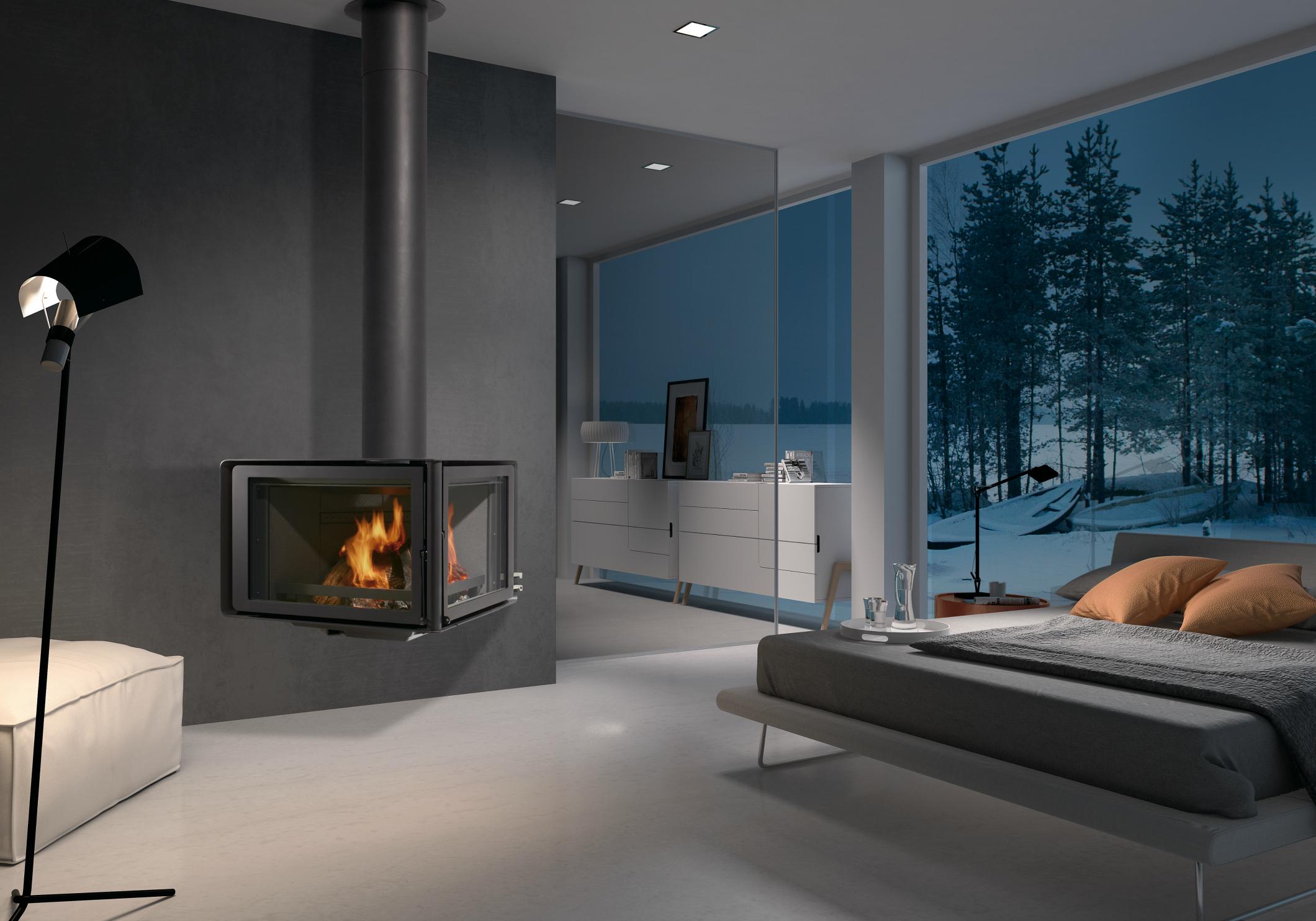 Rocal Vertex Fireplace