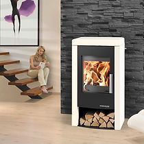 Haas and Sohn Pyrus Easy Wood Stove