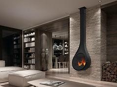 Rocal Drop Fireplace