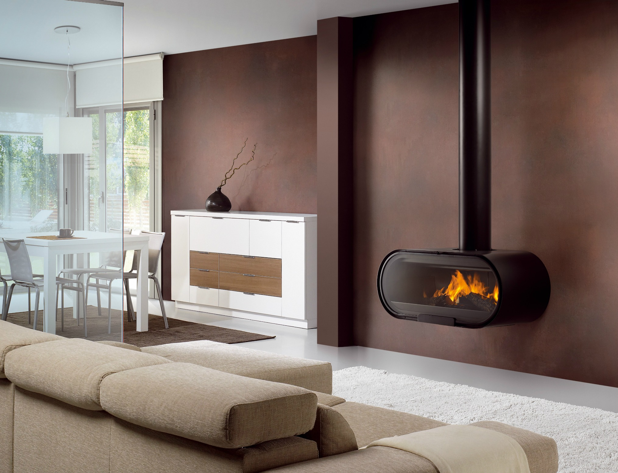 Rocal D-8 Fireplace