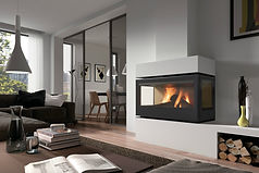 Rocal RCR 100 TC Insert Fireplacece