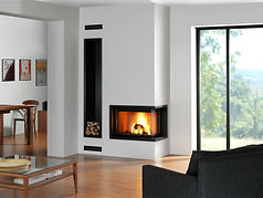 Rocal G30LD Corner Fireplace