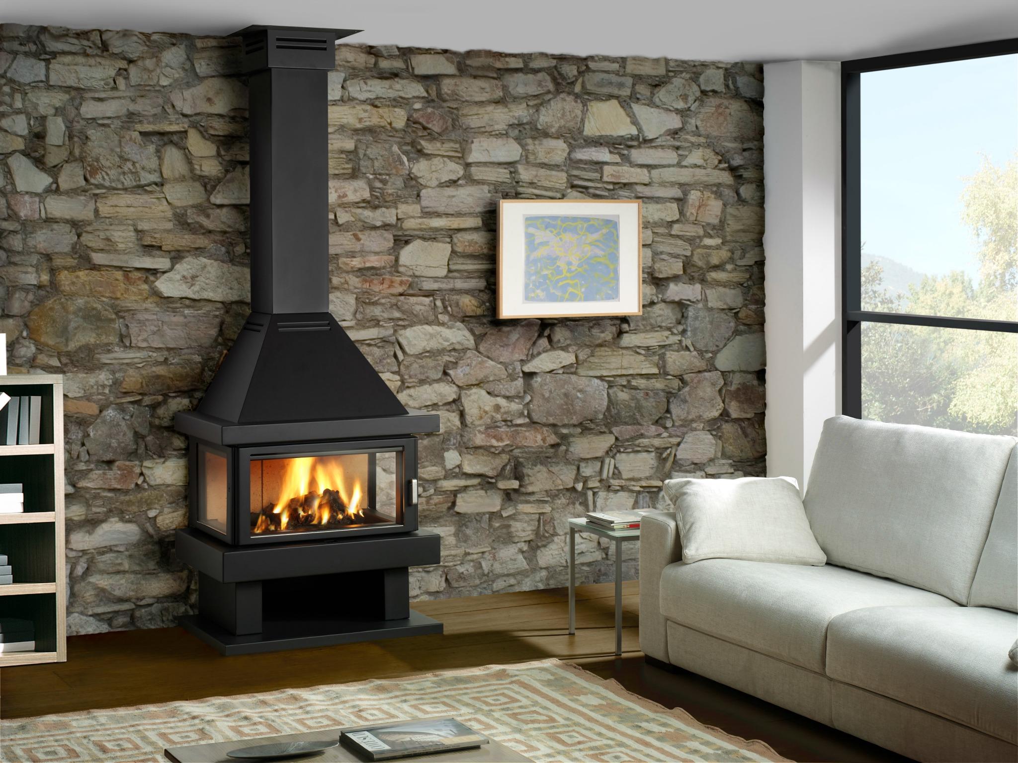 Rocal Barbara 90 Fireplace