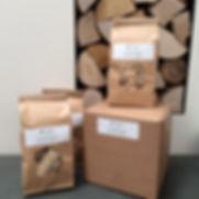 Bags of Woodlets Wood Pellets